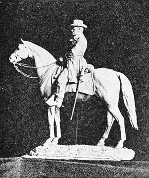 Louis Rebisso - Image: Appletons' Grant Ulysses S equestrian statue photo