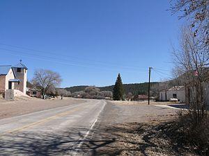 Aragon, New Mexico - Image: Aragon Road