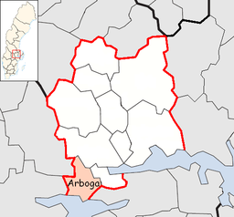 Arboga Municipality in Västmanland County.png