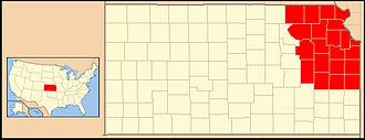 Roman Catholic Archdiocese of Kansas City in Kansas - Image: Archdiocese of Kansas City (Kansas USA)