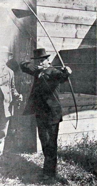 Archery at the 1900 Summer Olympics - Unknown competitor in the archery events
