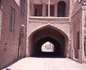 Traditional Persian residential architecture