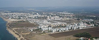 Nahariya - Image: Areal view of Nahariya