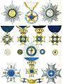 Aristide Michel Perrot - Collection historique des ordres de chevalerie civils et militaires (1820) pl. XXXIII.jpg