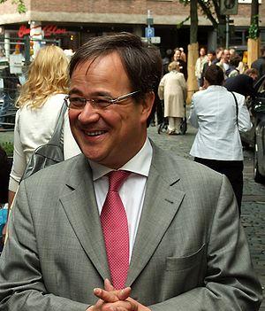 Armin Laschet. Photo was taken in Aachen.