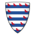 Armorial Bearings of the VALENCE (Earls of Pembroke) Lords of Goodrich Castle, Herefordshire.png