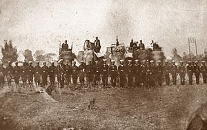 Haw wars - Siamese army during Haw wars in 1865