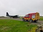 Arriving At North Ronaldsay Airport (geograph 4025813).jpg