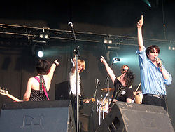 Art Brut live in Dour, 2006