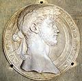 Arte toscana, medaglione con ritratto di traiano, 1554-1564 ca..JPG