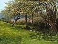 Arthur Hughes (1832-1915) - Burghfield Orchard, near Reading - 622751 - National Trust.jpg