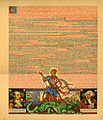 Arthur Szyk (1894-1951). Statute of Kalisz, English page (1927), Paris.jpg
