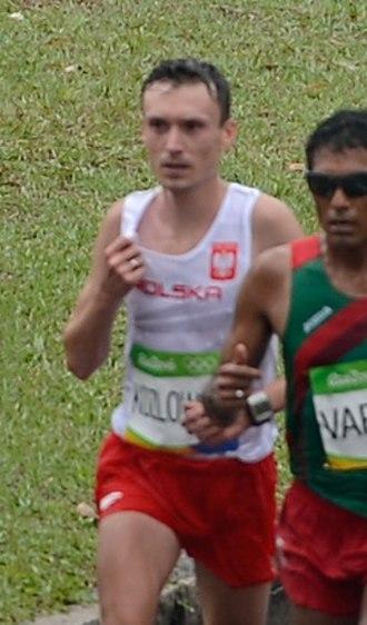 Artur Kozłowski (athlete) - Kozłowski at the 2016 Olympics