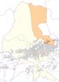 Arzl -- Statistischer Stadtteil in Innsbruck -- Lagekarte.png