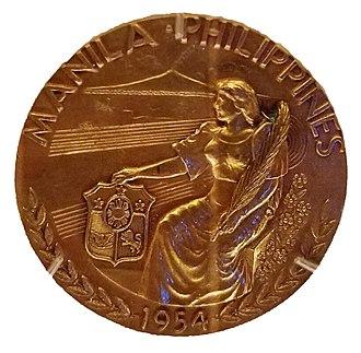 1954 Asian Games - 1954 Asian Games Gold Medal