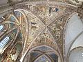 Assisi, santa chiara, interno, maestro espressionista di santa Chiara, volta con sante 02.JPG
