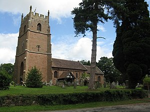 Astley, Worcestershire - St Peter's Church, Astley