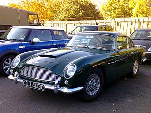 Aston Martin DB5 - Aston Martin DB5 Vantage