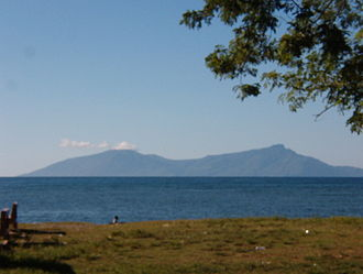 Atauro Island - View looking at Atauro from Dili