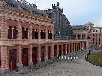Madrid Atocha railway station - Image: Atocha railway station 5