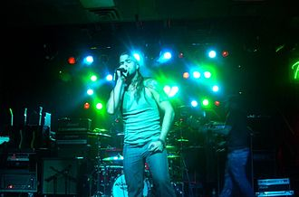 Atom Smash - Atom Smash performing in Fort Wayne, Indiana on September 11, 2009.