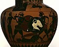 Attic Black-figure Neck Amphora Two Warriors Fighting Over a Corpse.jpg