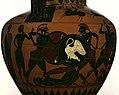 Attic Black-figure Neck Amphora Two Warriors Fighting Over a Corpse.jpg