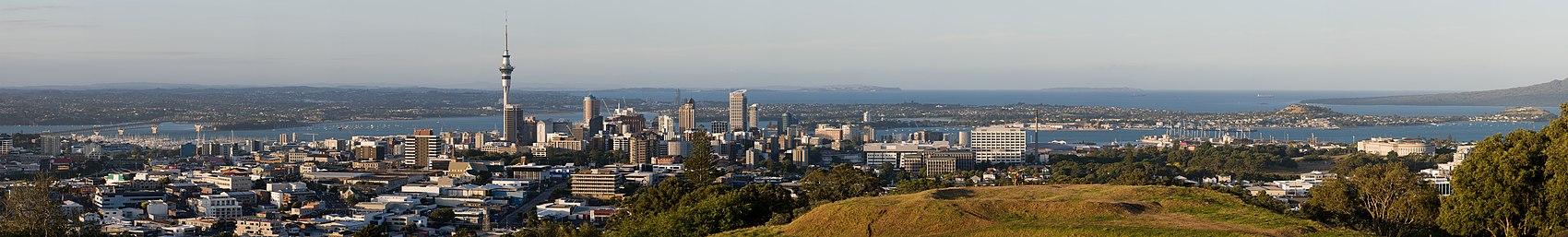 Panorama de Auckland.