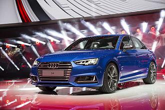 Audi S4 - 2016-present Audi S4 (B9) sedan