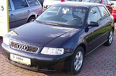 Audi A3 8L przed liftingiem