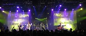 Le groupe AudioSlave au festival de Montreux, juillet 2005