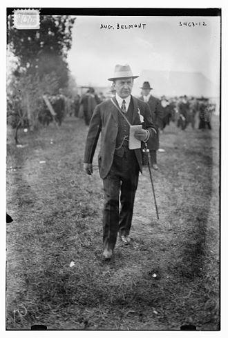 August Belmont Jr. - August Belmont II on May 6, 1915
