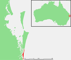 South Stradbroke Island - Image: Aus South Stradbroke Island