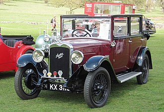 Tickford - Image: Austin Six registered July 1929 2249cc Tickford bodied