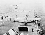 Australian Gannet is launched from USS Bennington (CVS-20) in 1962.jpg