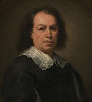 Bartolomé Esteban Murillo - Self-portrait, c. 1670–73 (detail)