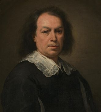 Bartolomé Esteban Murillo - Self-portrait, c. 1670–73 (detail)