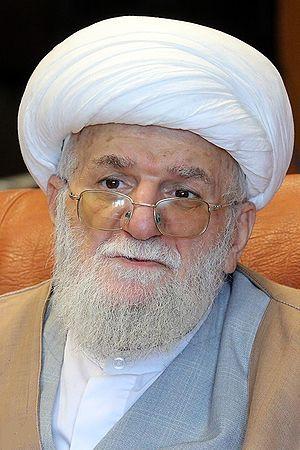 Mohammad-Ali Taskhiri - Image: Ayatollah Mohammad Ali Taskhiri by Tasnimnews 03