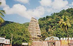 Image of Kallazhagar Temple, after which the village is named
