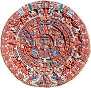 Aztec Sun Stone Replica cropped