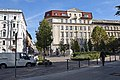 Báthory utca (street) square in streetcrossing with Hold utca.jpg