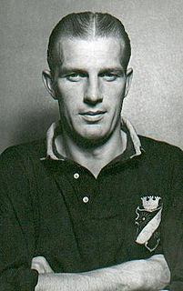 Börje Leander Swedish footballer