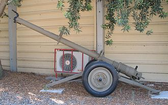 B-11 recoilless rifle - B-11 recoilless rifle in Batey ha-Osef Museum, Israel.