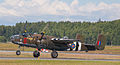 B-25 doing a short takeoff roll - like from a carrier deck (7674527754).jpg