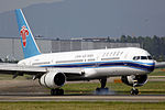 B-2859 - China Southern Airlines - Boeing 757-28S - CAN (14793882245).jpg