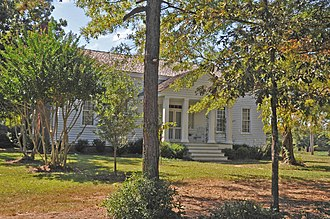 National Register of Historic Places listings in Anson County, North Carolina - Image: BARRETT FAULKNER HOUSE; ANSON COUNTY, NC