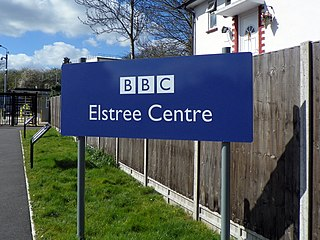 BBC Elstree Centre Television production facility in Hertfordshire, England