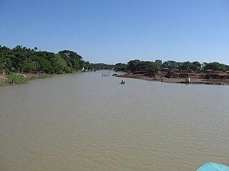 Kangsha River - Image: BD Kangsha River 3