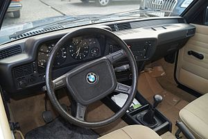 BMW 3 Series (E21) - Interior