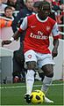 Bacary Sagna vs West Ham 2010.jpg